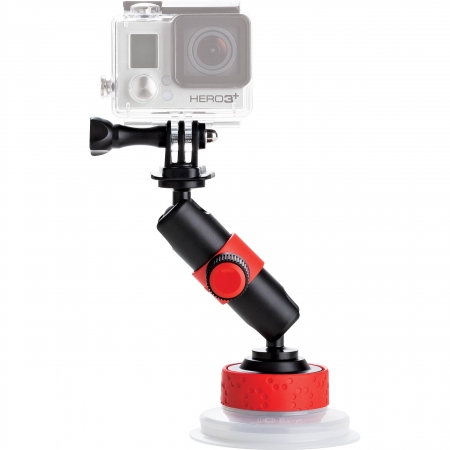 Joby Suction Cup & Locking Arm cu Adaptor GoPro