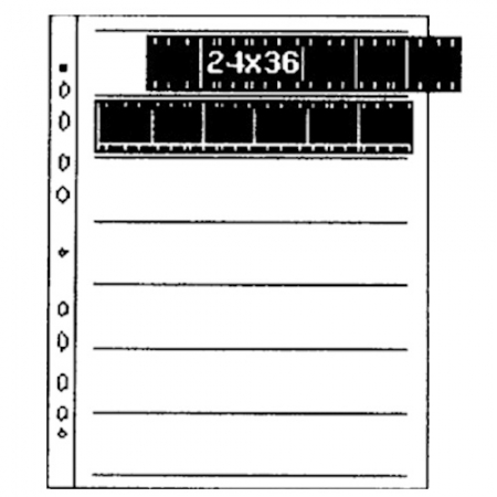 Kaiser #2510 - set mape stocare film ingust /100buc