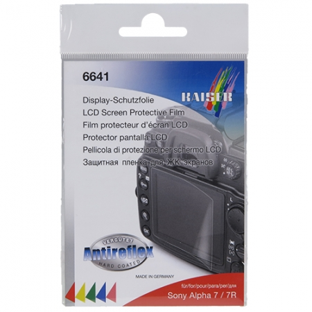Kaiser #6641 LCD Screen Protective Film for Sony Alpha 7 / 7R