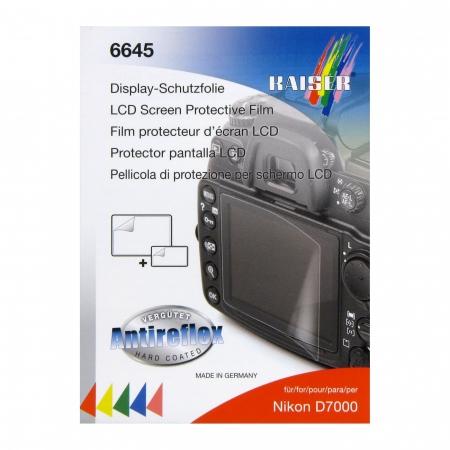Kaiser 6645 -Folie protectie LCD pt Nikon D7000 - RS1041299