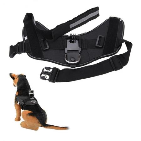 Kathay Gopro Dog harness Strap - negru