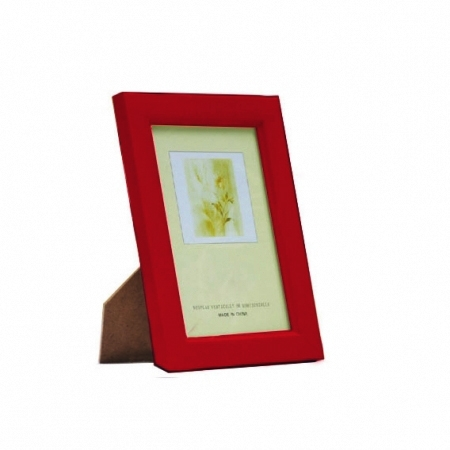 Kathay Photo Frame solid color red 13x18