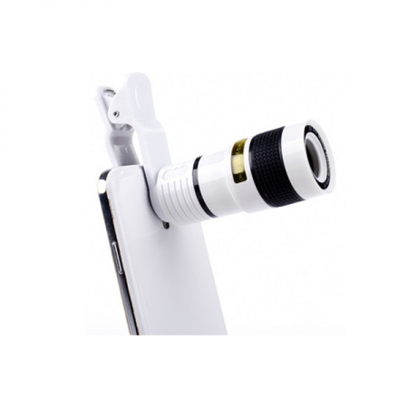 Kathay Teleobiectiv 8x pentru telefoane mobile - alb