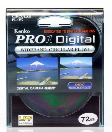 Kenko Filtru PRO1 D Cir-Pol 72mm Polarizare Circ. - RS2303587