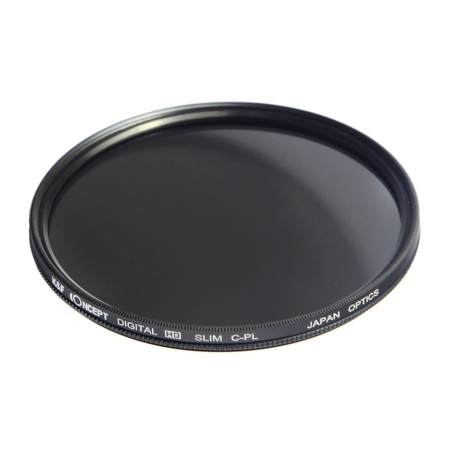 KentFaith - Filtru de polarizare circulara slim, 49mm