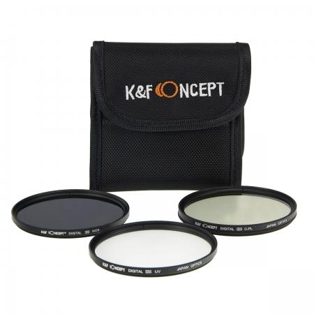 KentFaith UV + CPL +  ND8 52mm