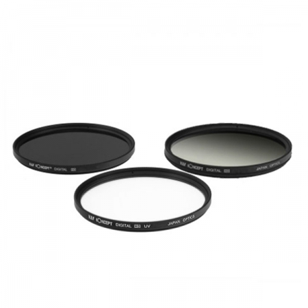 KentFaith UV+CPL+G-Gray 46mm