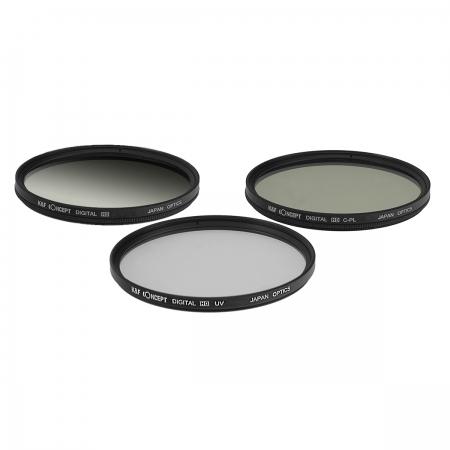 KentFaith UV+CPL+G-Gray 49mm