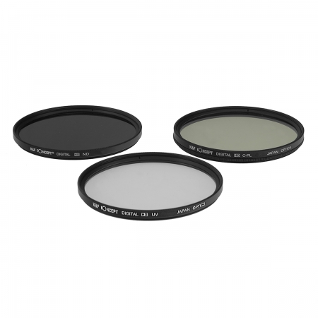 KentFaith UV + CPL + ND8 49mm