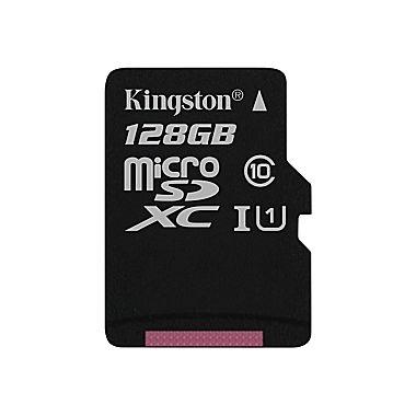 Kingston 128GB microSDXC, Class 10, UHS-I
