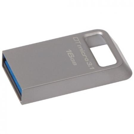 Kingston 16GB DTMicro USB 3.1/3.0 Type-A metal ultra-compact flash drive