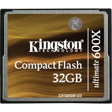 Kingston CF Ultimate 32GB 600x cu MediaRECOVER