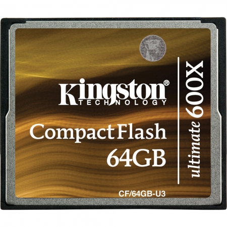 Kingston CF Ultimate 64GB 600x cu MediaRECOVER