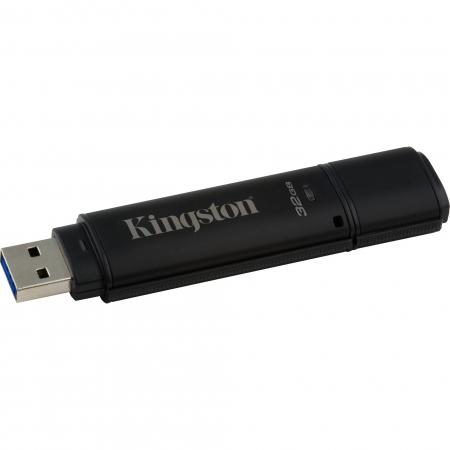 Kingston DataTraveler 4000G2 with Management 32GB, 256-bit AES Encryption