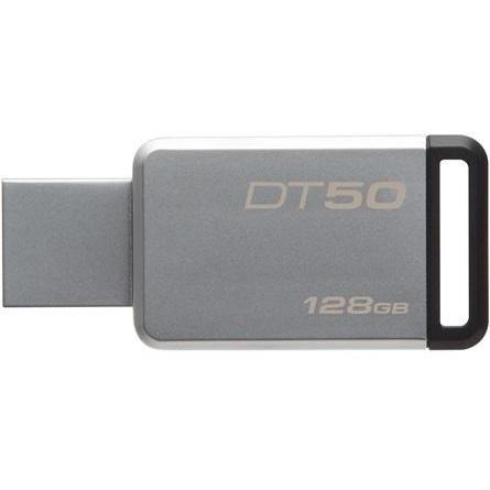 Kingston DataTraveler 50 128GB, USB 3.0 (Metal/ Negru)