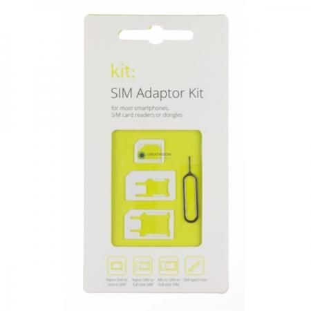 Kit SIMADP - Adaptor SIM - Micro SIM - Nano SIM