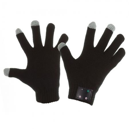 Kit Vision hi-Call - manusi touch screen, bluetooth, microfon si casca - negru