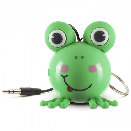 KitSound Mini Buddy Frog Speaker - boxa portabila cu jack 3.5mm