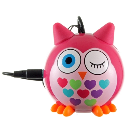 KitSound Mini Buddy Owl Speaker - boxa portabila cu jack 3.5mm