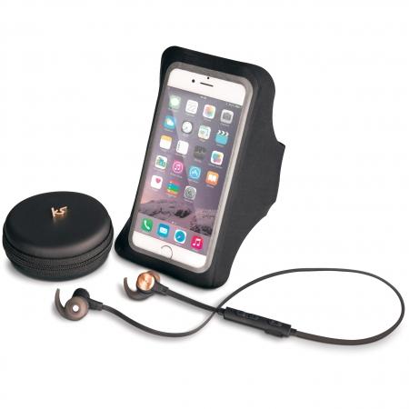 KitSound Outrun Evolution Sports - Casti bluetooth stereo, Wireless