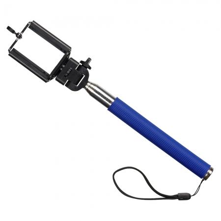 KitVision Splash - Selfie Stick extensibil cu suport de telefon - Albastru