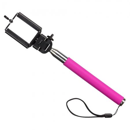 KitVision Splash - Selfie Stick extensibil cu suport de telefon - Roz