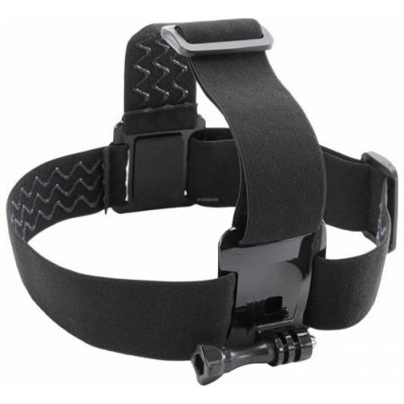 Kitvision Universal Head Strap Mount - Set accesorii montare pe cap compatibil cu GoPro, KitVision