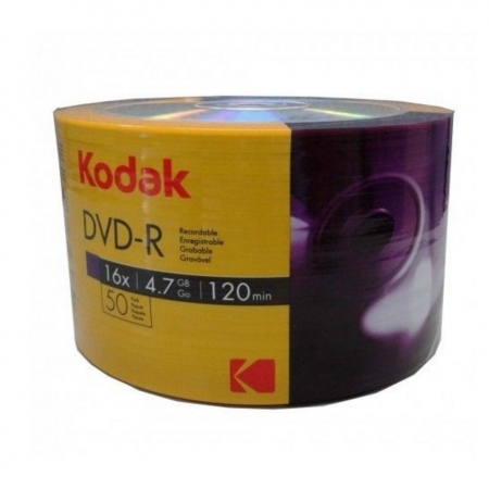 Kodak DVD-R, 4.7GB, 16X, 50 bucati