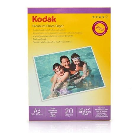 Kodak Glossy hartie foto A3 20coli 200gr