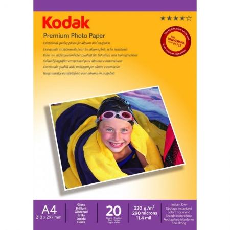 Kodak Glossy hartie foto A4 20 coli 230gr