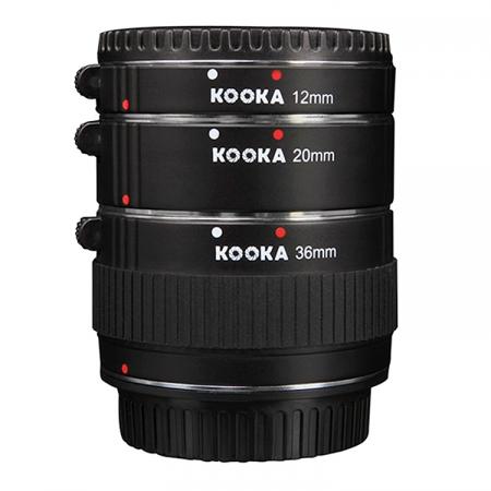 Kooka KK-NM47 set tuburi extensie (inele macro - 10mm, 16mm, 21mm) pentru Nikon 1