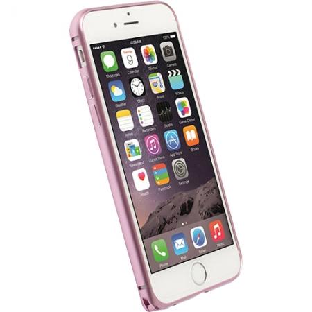 Krusell - Husa bumper aluminium pentru Apple Iphone 6 Plus - roz