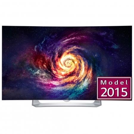 LG 55EG910V - Televizor OLED 3D curbat 139 cm, Full HD, argintiu