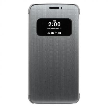 LG CFV-160.AGEUSV - husa tip flip pendtru LG G5 - silver
