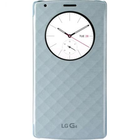 LG Snap Circle View - Husa agenda pentru G4 - albastra