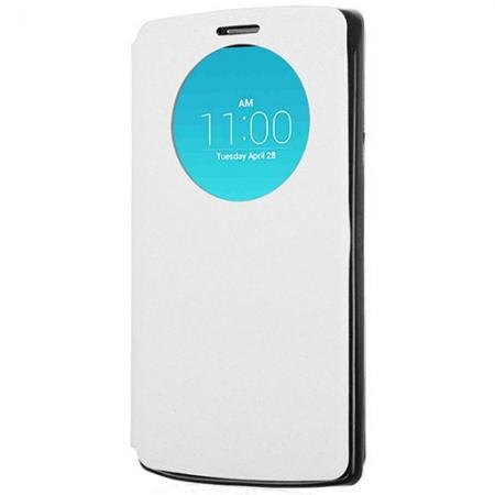 LG Snap Circle View - Husa agenda pentru G4c - alb