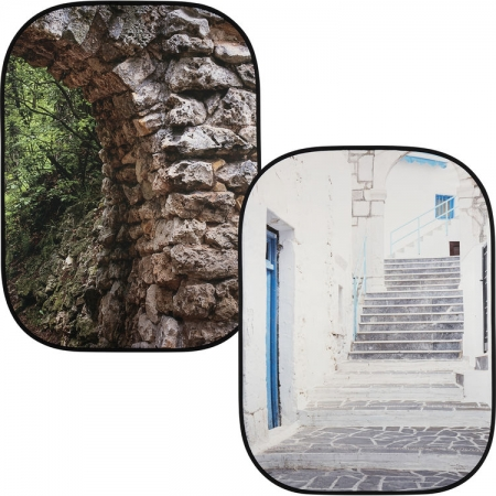 Lastolite Perspective - fundal 1.5x2.1m Stone Arch/Grecian Steps