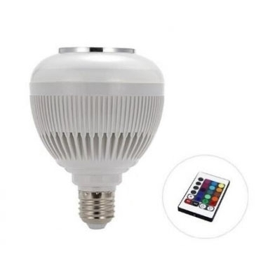Led Wifi Remote Control Music Bulb (Xipe) - Bec inteligent cu boxa