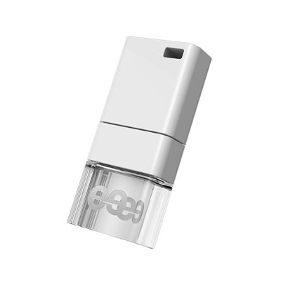 Leef Ice USB 2.0 Flash Drive 64GB - stick USB alb