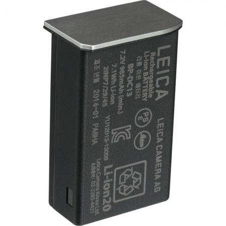Leica BP-DC13 - acumulator Li-ion pentru Leica T argintiu