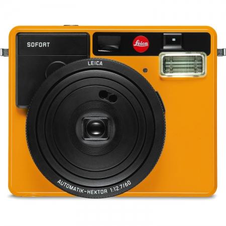 Leica Sofort - Aparat foto instant, Portocaliu