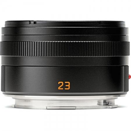 Leica Summicron-T 23mm f/2 ASPH, Negru