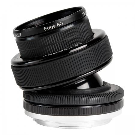 Lensbaby COMPOSER PRO kit cu Edge80 pentru Canon