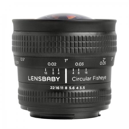 Lensbaby Circular Fisheye 5.8mm Sony E