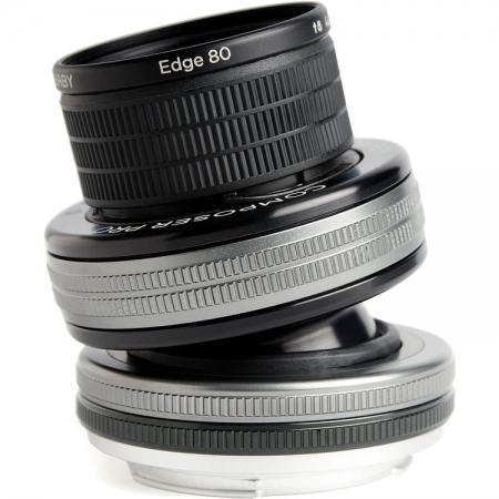 Lensbaby Composer Pro II Edge 80 pentru Canon