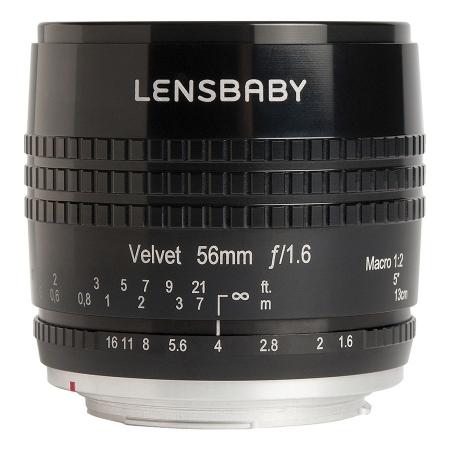Lensbaby Velvet 56mm f/1.6 - montura Sony E