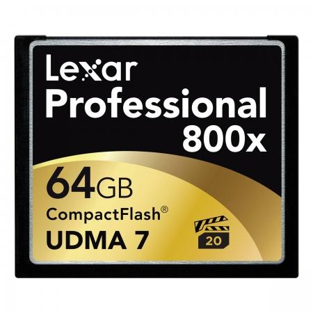 Lexar CF 64GB  800X Udma 7 BULK125003486-1