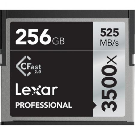 Lexar Professional 3500x CFast 2.0 - card 256GB
