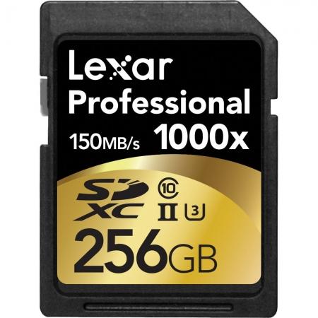 Lexar Professional SDXC 256GB 1000X  UHS2, 150MB/s