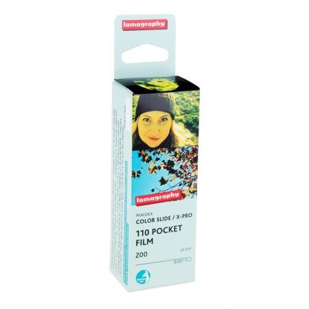 Lomography 110 Peakock - Film diapozitiv format 110mm, ISO 200